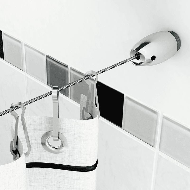 Tensor para Baño Cromado 1